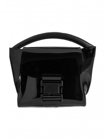 Zucca mini bag in transparent black PVC online