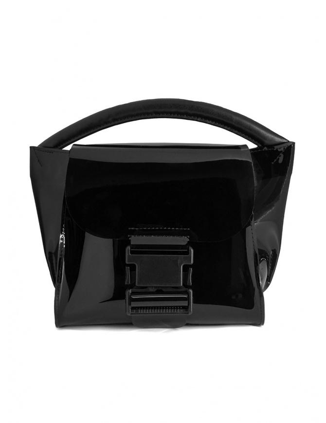 Zucca mini borsa in PVC nera trasparente ZU07AG268-26 BLACK borse online shopping