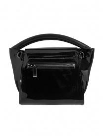 Zucca mini borsa in PVC nera trasparente prezzo