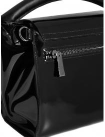 Zucca mini borsa in PVC nera trasparente borse acquista online