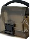 Zucca mini borsa in PVC trasparente grigio ZU07AG268-24 GRAY acquista online