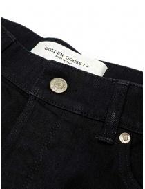 Golden Goose jeans nero con la piega jeans uomo prezzo