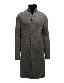 Label Under Construction cappotto reversibile nero-grigio cappotti uomo prezzo