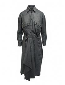 Abiti donna online: Mercibeaucoup, abito lungo a camicia grigio