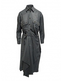 Mercibeaucoup, long gray shirt dress online