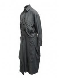 Mercibeaucoup, abito lungo a camicia grigio