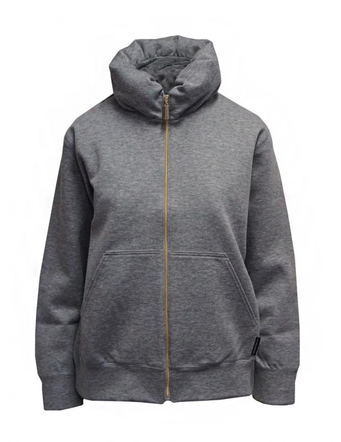 Mercibeaucoup, gray balloon neck sweatshirt MB07JO802-24 GRAY womens jackets online shopping
