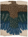 Kapital beige scarf with green and blue eagle K1909XG522 BE price