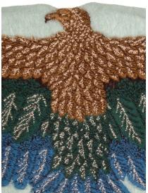 Sciarpa Kapital azzurra con aquila verde e blu prezzo
