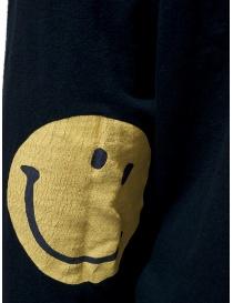 Kapital black sweatshirt with smiley elbows price