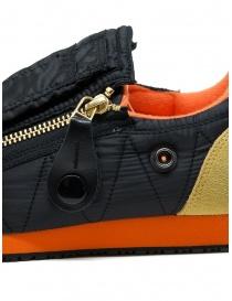 Kapital sneaker nera con cerniere e smiley calzature uomo prezzo