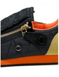 Kapital sneaker nera con cerniere e smiley acquista online prezzo