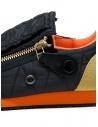 Kapital black sneaker with zippers and smiley price EK-799 BLACK shop online