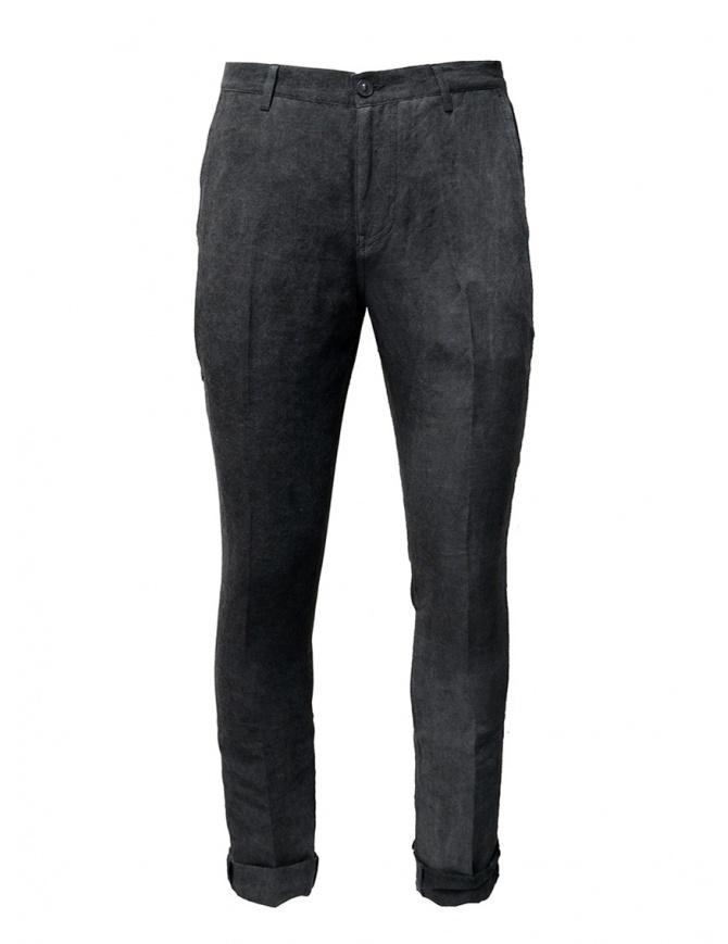 John Varvatos pantaloni grigi con la piega J293W1 BSLD GREY 032 REG pantaloni uomo online shopping