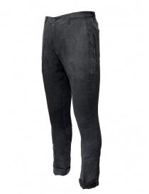 John Varvatos pantaloni grigi con la piega