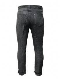 John Varvatos pantaloni grigi con la piega prezzo