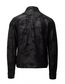 John Varvatos black trucker jacket