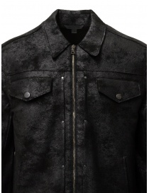 John Varvatos black trucker jacket price