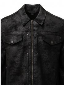John Varvatos giacca trucker nera prezzo