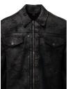 John Varvatos giacca trucker nera K3264W1 BRG23 BLK 001 prezzo