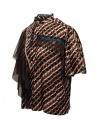 Kolor metallic printed shirt with ruffles shop online womens shirts