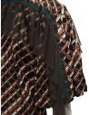 Kolor camicia a stampa metallizzata con ruches prezzo 20SCL-B04124 BROWNshop online