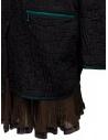 Kolor cappotto nero effetto coccodrillo 20SCL-C01106 BLACK prezzo