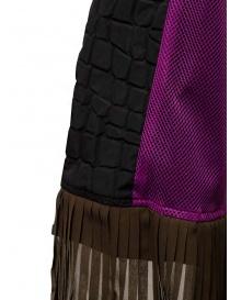 Kolor cappotto nero effetto coccodrillo cappotti donna prezzo