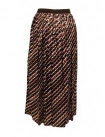 Kolor metallic geometric print skirt price