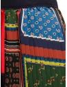 Kolor pleated patchwork skirt 20SCL-S08129 DARK TONE buy online