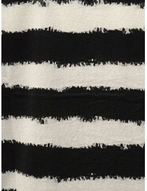 John Varvatos t-shirt a righe orizzontali bianche e nere prezzo
