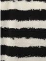 John Varvatos t-shirt a righe orizzontali bianche e nere K3258W1 BSC12 BLK 001 prezzo