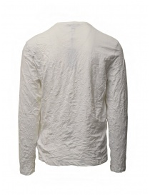 John Varvatos t-shirt bianca cotone stropicciato
