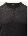 John Varvatos maglia in lino nera con bottoni Y2784W1 AZT9 BLK 001 prezzo