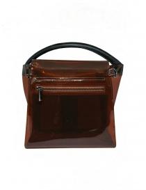 Zucca mini bag in transparent brown PVC price