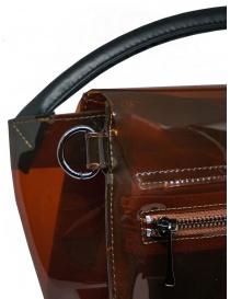 Zucca borsa in PVC marrone trasparente borse acquista online