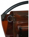 Zucca mini bag in transparent brown PVC ZU07AG174-05 BROWN buy online
