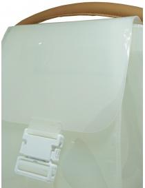 Zucca borsa in PVC bianco trasparente con tracolla borse acquista online