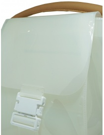 Zucca transparent white PVC bag with shoulder strap bags buy online