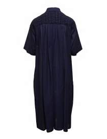 Zucca blue dress with embroidered details price