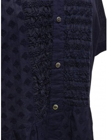 Zucca blue dress with embroidered details womens dresses buy online