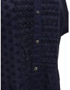 Zucca blue dress with embroidered details ZU07FH048-13 NAVY buy online