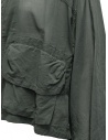 Zucca khaki green veiled cotton jacket with zip ZU07FC238-09 KHAKI buy online
