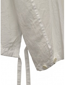 Zucca white veiled cotton jacket with zip womens jackets price