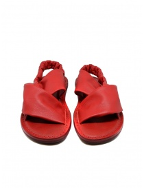 Trippen Embrace F red crossed sandals