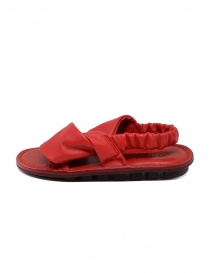 Trippen Embrace F red crossed sandals price