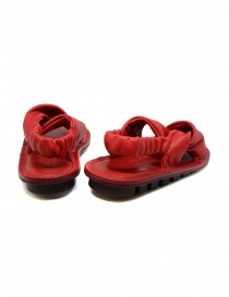 Trippen Embrace F red crossed sandals womens shoes buy online