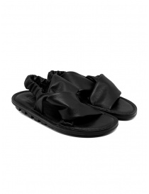 Womens shoes online: Trippen Embrace F black crossed sandals