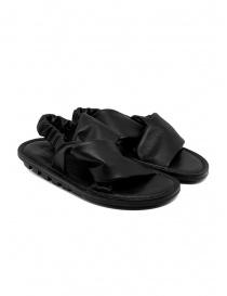Calzature donna online: Trippen Embrace F sandali incrociati neri