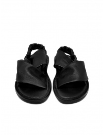 Trippen Embrace F black crossed sandals